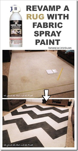 19.-Overhaul-an-old-rug-with-spray-paint-29-Cool-Spray-Paint-Ideas-That-Will-Save-You-A-Ton-Of-Money