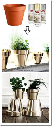 2.-Spray-paint-cheap-terracotta-pots-29-Cool-Spray-Paint-Ideas-That-Will-Save-You-A-Ton-Of-Money